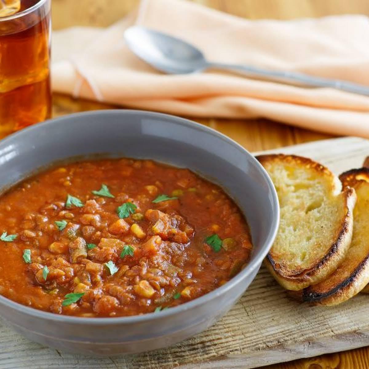 Budget Friendly & Delicious Lentil Stew