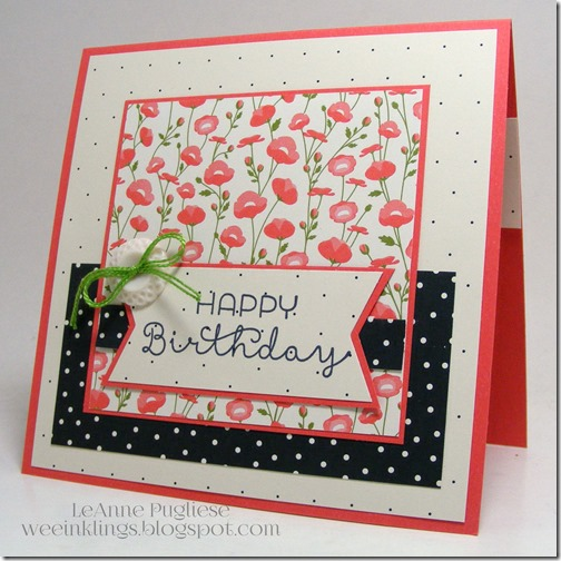 LeAnne Pugliese WeeInklings TSOT236 Cottage Greetings Stampin Up