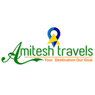 Amitesh travels in madurai logo