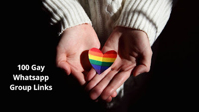 Join Latest 100 Gay Whatsapp Group Links List