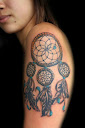 dreamcatcher tattoos on arm 5