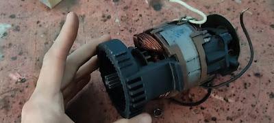 Como construir uma roçadeira com motor lavadora de alta pressão wap