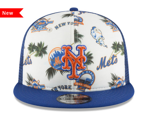 1925b550e48 New York Mets New Era MLB Aloha Trucker 9FIFTY Snapback Cap