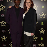 OIC - ENTSIMAGES.COM - Leroy Dawkins and Karen Hendry at the  Sicario - JF London shoe launch  in London 21st September 2015 Photo Mobis Photos/OIC 0203 174 1069