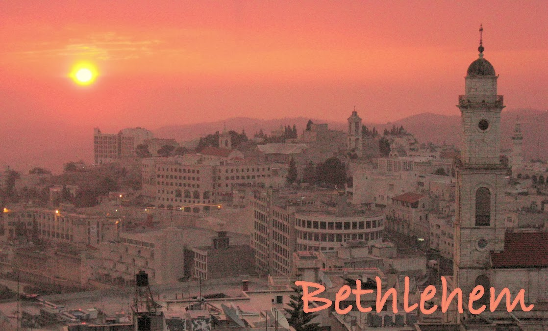 Bethlehem sunrise