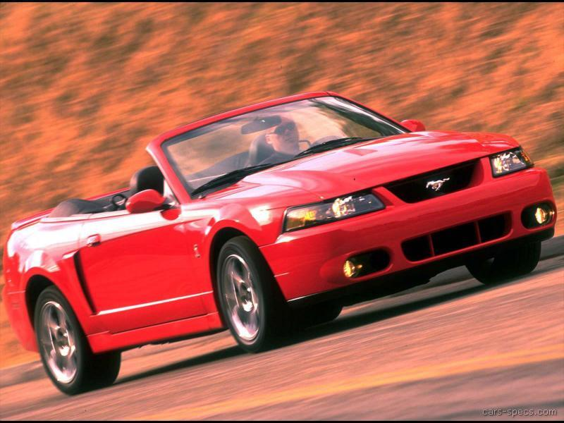 2001 ford mustang svt cobra specifications pictures prices. Black Bedroom Furniture Sets. Home Design Ideas