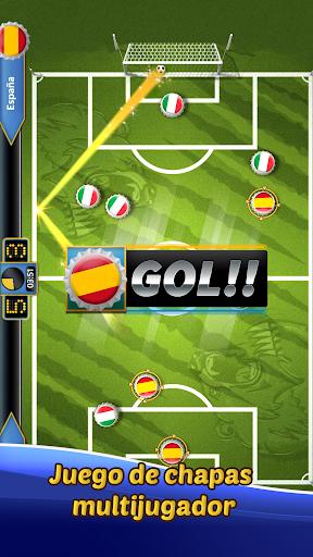 SOCCUP 2018 Soccer Star: Juego de fu00fatbol de chapas 1.5.5 screenshots 1