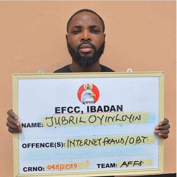 EFCC Arraigns Yahoo Boy For Love Scam, Pretending To Be A White Woman