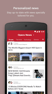 Download Opera News - Trending news and videos For PC Windows and Mac apk screenshot 1