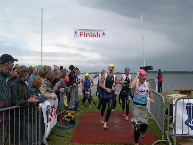 Swim exit Triathlon Huizen