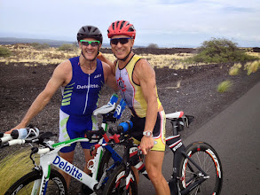 Photo: Training on the Queen K with good friend Bill Beyer
