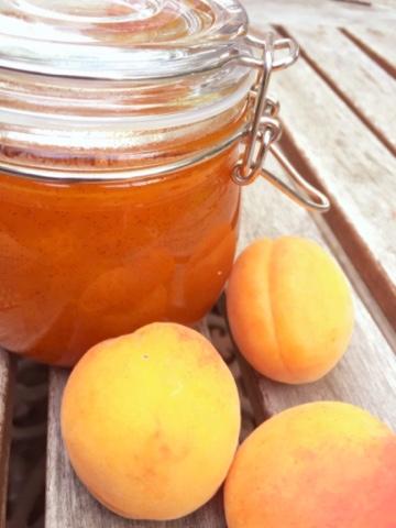 Recette confiture d'abricot