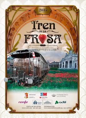 El Tren de la Fresa comienza la temporada 2015