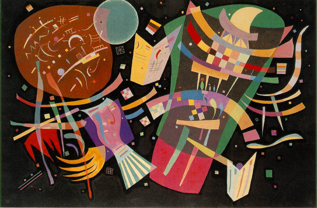 Wassily Kandinsky – Composition X, 1939