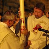 Lumen Christi Lichter in der Osternacht