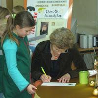 Spotkanie autorskie z Dorotą Suwalską