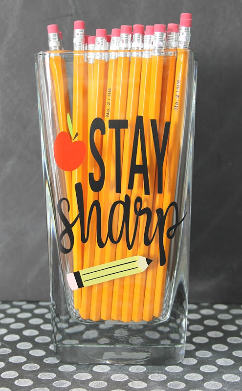 stay sharp teacher gift