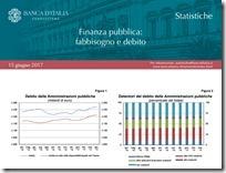 Finanza pubblica. Giugno 2017