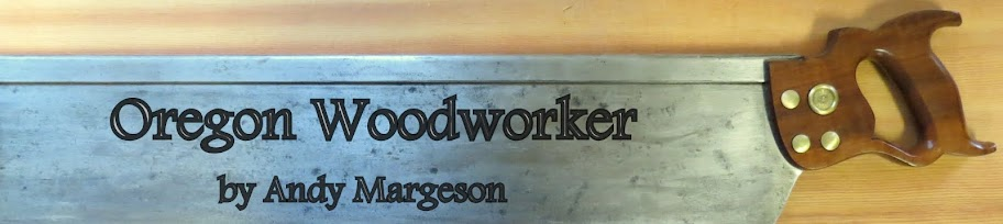 Oregon Woodworker by Andy Margeson