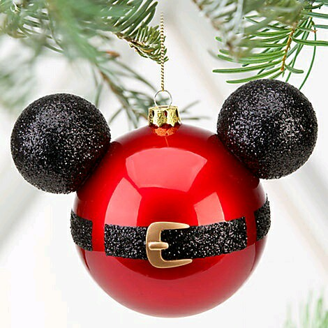 ms y ms manualidades Adornos navideos al estilo Mickey Mouse
