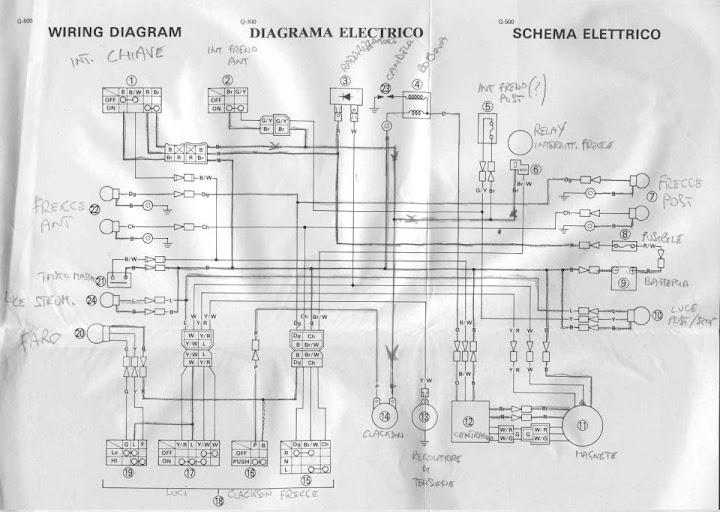 Schema Elettrico Yamaha Xt 600 : Club tenere italia discussione provo a rimettere in