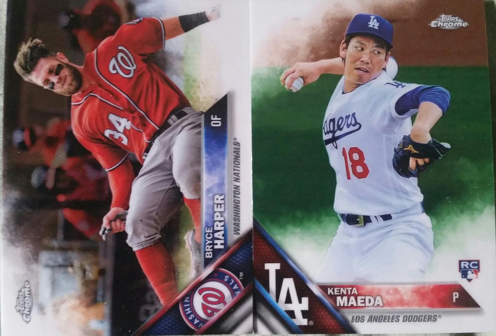 Sport Card Collectors Review2016 Topps Chrome Baseball Giveaway