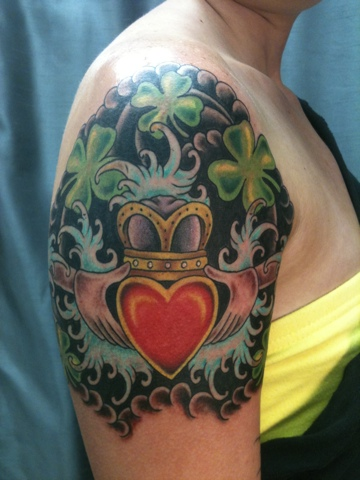 Hold fast tattoo body piercing some tattoos for Tattoo shops daytona beach