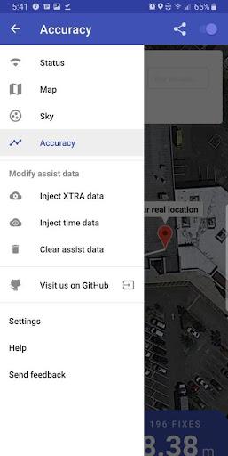 GPSTest screenshot 9