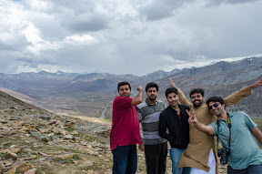 We stopped at Babusar top for while.