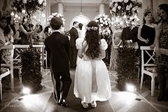 Foto 1324pb. Marcadores: 30/09/2011, Casamento Natalia e Fabio, Daminhas Pajens, Rio de Janeiro