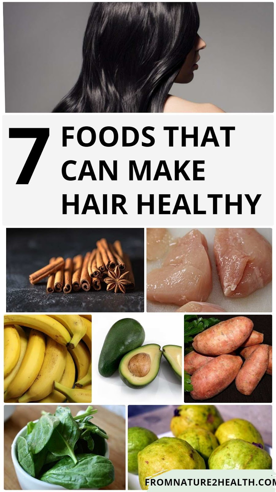 7 Foods That Can Make Hair Healthy