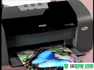 How to reset flashing lights for Epson D68 printer