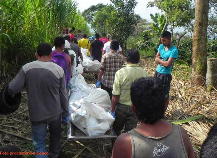 Carta y comunicado a la opinión pública: La guerra no para en los territorios indígenas del norte del Cauca.