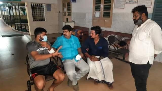 Youth attacked for Shivaji Sticker in his bike | ಬೈಕ್ನಲ್ಲಿ ಶಿವಾಜಿ ಸ್ಟಿಕರ್: ಯುವಕನಿಗೆ ದುಷ್ಕರ್ಮಿಗಳಿಂದ ಹಲ್ಲೆ