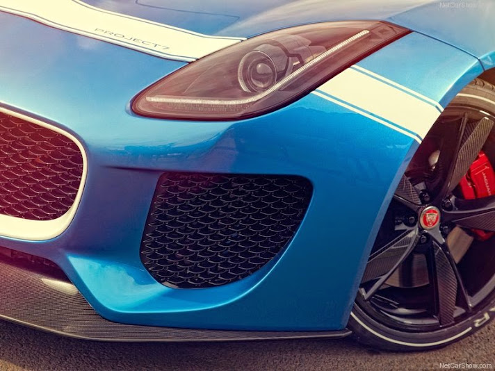 Jaguar Project 7 front bumper