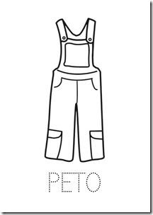 PETO ropa dibujos colorear pintaryjugar  (1)