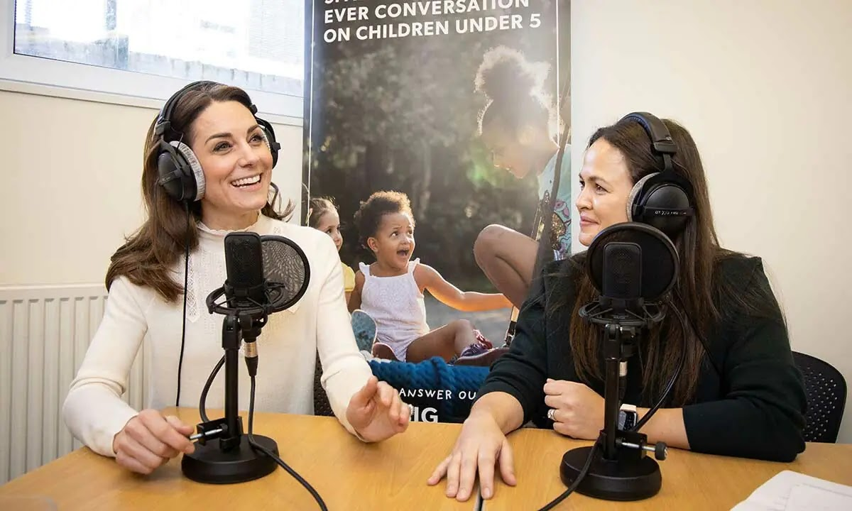 How Kate Middleton Changed Plans for Giovanna Fletcher's Baby Podcast