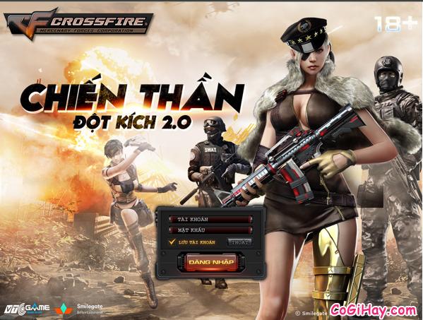 Hướng dẫn cài đặt game Đột kích 2.0 – Chiến Thần
