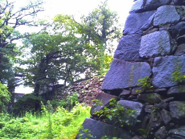 福岡城感想旅行石垣