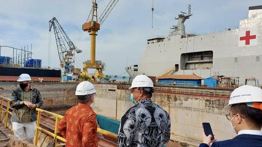 Duta Besar Perancis Kunjungi PT PAL Indonesia