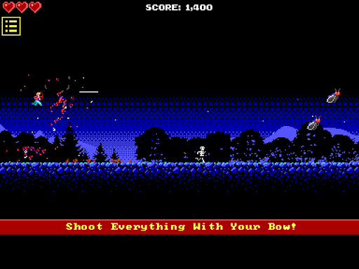 16-Bit Epic Archer Hack for the game