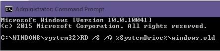Ảnh mô phỏngLàm thế nào để xóa thư mục Windows.Old trong ổ C của Windows 10 - xoa-thu-muc-windows-old-9