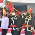 Bupati Franky Wongkar Hadiri Peringatan HUT Provinsi Sulawesi Utara ke 57