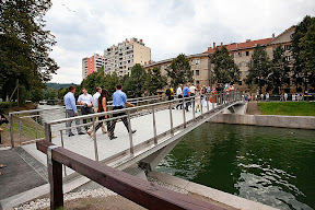 Odprtje Žitnega mostu, 24.8.2010 Foto: Nada Žgank, ljubljana.si