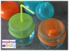 capuchons pour verre bébé Mastrad Baby