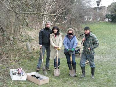 Tree planting, February 2012