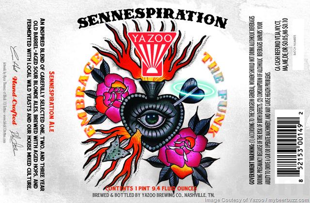 Yazoo Sennespiration Ale 750ml Bottles