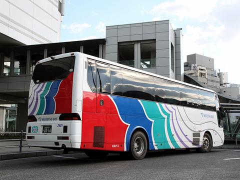 名鉄バス「名古屋~新潟線」 2801 リア