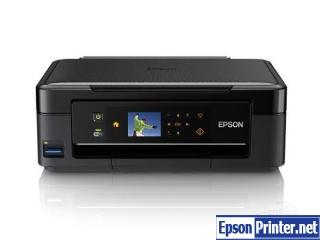 How to reset Epson ME-401 printer
