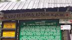Na zdjęciu tablica umieszczona na szczycie najwyższego szczytu Beskidu Sądeckiego Radziejowa
